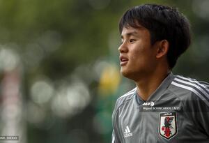 Takefusa Kubo, futbolista japonés