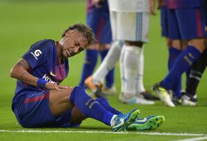 Neymar Jr., futbolista brasileño