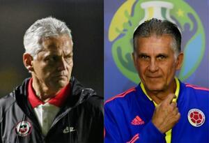 Reinaldo Rueda y Carlos Queiroz