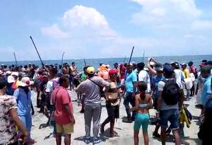 Santa Marta Disturbios barras Millos - Unión