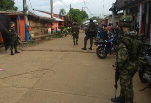 Intervención en Cáceres, Antioquia
