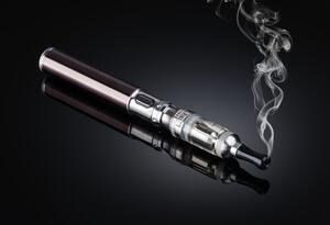 Un cigarrillo electrónico