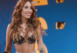 Luisa Fernanda W en los premios MTV MIAW