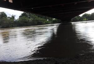 Río San Jorge en cercanías a La Apartada.