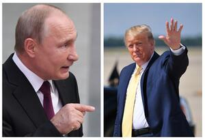 Vladimir Putin y Donald Trump
