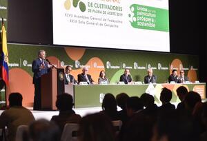 Presidente Iván Duque en el Congreso Nacional de cultivadores de Palma de Aceite