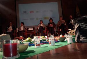 Mujeres indígenas aportaron informes ante la JEP entre tejidos y semillas
