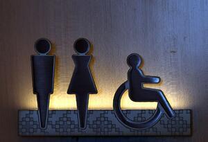 Baños públicos, imagen referencial.