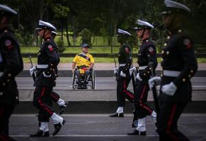 Desfile militar 20 de julio