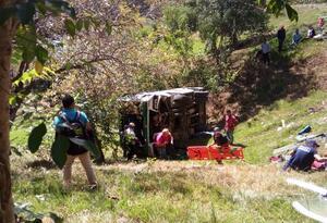 Accidente Bolívar, Cauca
