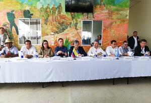 Representantes del Consejo de la ONU en Colombia