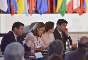 Vicepresidenta Marta Lucía Ramírez, reunión BID Ecuador