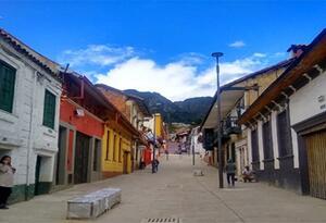 Calle 10, en Bogotá