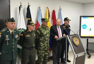 Rendición de cuentas del ministro de Defensa, Guillermo Botero
