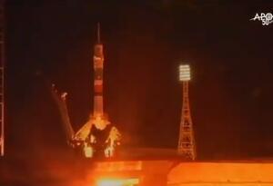 Nave rusa soyuz estacion espacial internacional