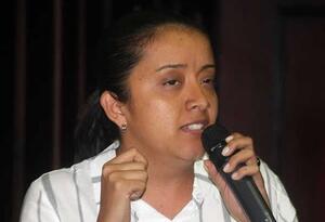 Diputada venezolana, Gaby Arellano