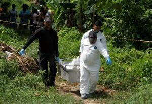Homicidio que investigan las autoridades