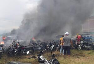 Incendio Santander Quilichao