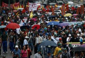 Marcha En Sogamoso