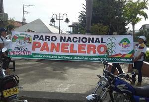 Paro Panelero Boyaca Santander