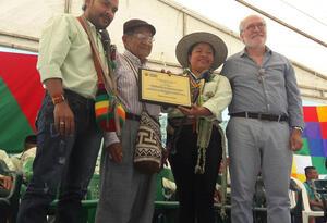 Proyecto por 3 mil millones de pesos, serán ejecutados por la comunidad indígena en temas sociales.