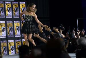 Natalie Portman en la Comic Con