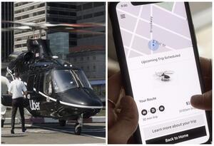 Servicio de helicóptero