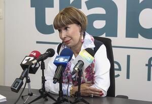 Ministra del trabajo, Alicia Arango Olmos
