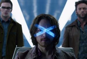 Escena de una de las cintas de X-Men con James McAvoy y Hugh Jackman