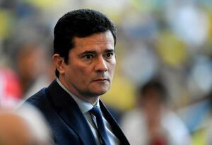 Ministro de Justicia de Brasil sergio Moro