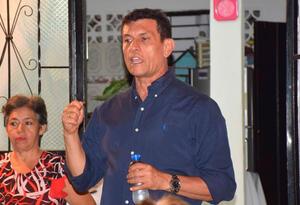 Alberto Girón, candidato a la alcaldía de Ibagué