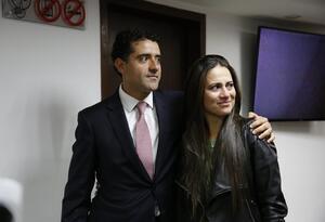 Hermanos Rafael y Catalina Uribe Noguera