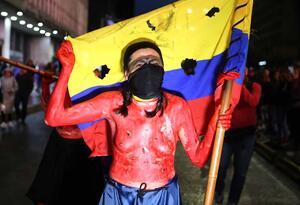 Lideres sociales / Marchas por lideres sociales / Protestas en Bogota
