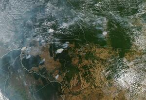 Incendios forestales en la Amazonia brasileña.