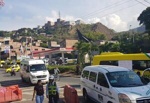 Vía Cali - Buenaventura. Imagen de referencia.