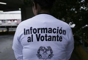 Hay una serie de advertencias sobre injerencia de servidores públicos en la campaña.