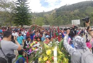 Asesinato indígenas