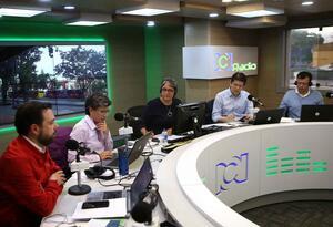 Candidatos a la Alcaldía de Bogotá, en debate con RCN Radio