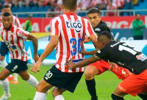 Junior Vs América, Liga Águila