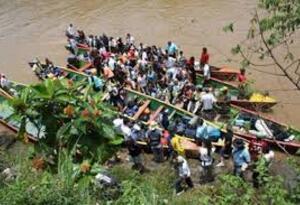 Sobrevivientes de la masacre de La Gabarra
