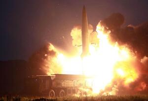 Misiles lanzados por Corea del Norte