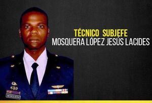 Sargento Mayor, Jesús Mosquera López, murió durante una demostración aérea en Medellín.