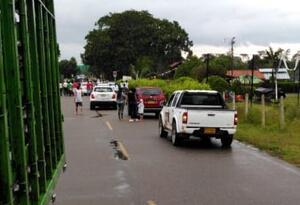 Enfrentamiento entre policía de tránsito y delincuentes en Saravena dejó tres muertos