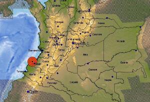 Sismo en Colombia; 25 de agosto de 2019