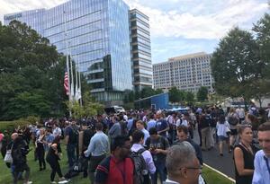 Evacuan edificio del diario USA Today