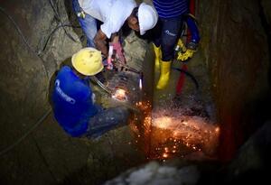 Trabajo Fuga de Agua Soledad Barranquilla