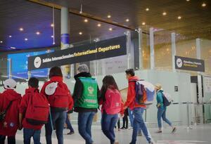 Menores adoptados por familias extranjeras