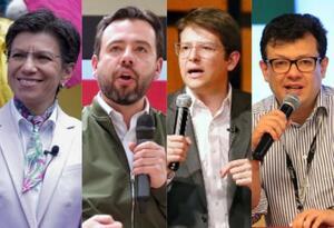 Candidatos a la alcaldía de Bogotá en debate por la educación