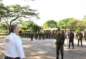 Iván Duque dio instrucciones a las FF.MM. para que combatan al Clan del Golfo en Córdoba.
