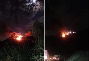 Incendio en Pereira